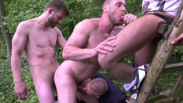 cock hunters gay group sex outdoors