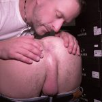 older guy spreads away hairy male ass ready to lick it