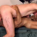two muscle studs suck big cocks and 69 on a couch