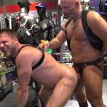 the bavarian hans berlin gets fucked doggy by mature man in leather